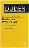 Der kleine Duden – Deutsches Wörterbuch