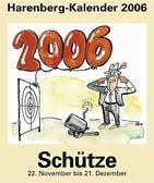 Schütze-Kalender