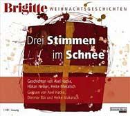 Brigitte Weihnachtsgeschichten, Audio-CD