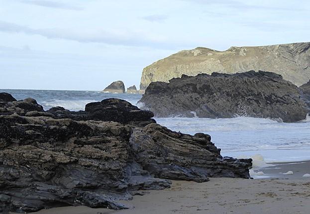Küste bei Cardigan