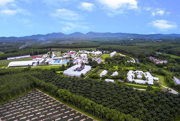 Überblick über das gesamte Resort