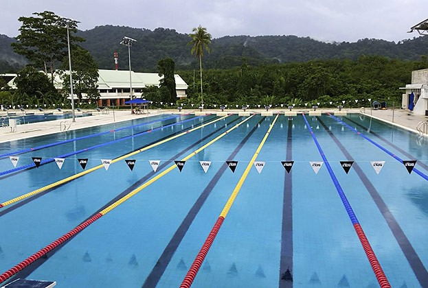 Olympischer 50m Pool