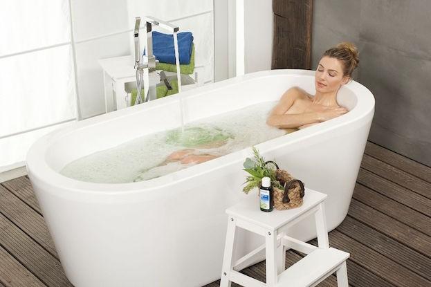 Wohltuendes Bad bei Erkältung