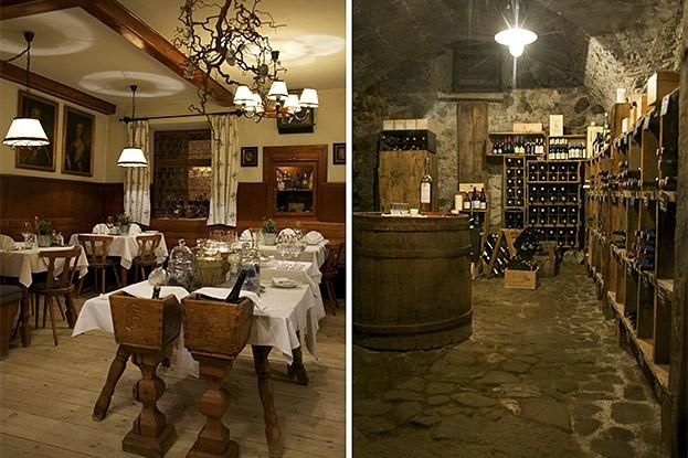 Gasthof/Hotel Kirchenwirt - Restaurant/Weinkeller