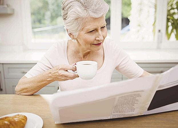 Generation 60+ liebt den Kaffeegenuss am Morgen
