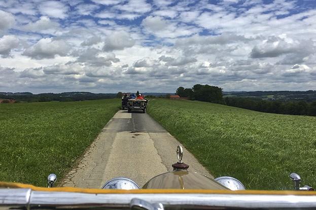 Oldtimer Ausfahrt - fahrTraum Mattsee