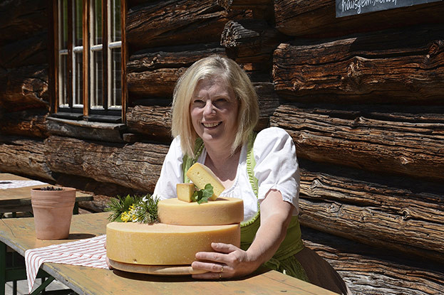 Rottenhof-Hütte, Magdalena Kraft