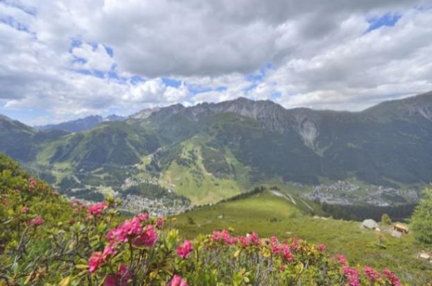 Über St. Anton am Arlberg