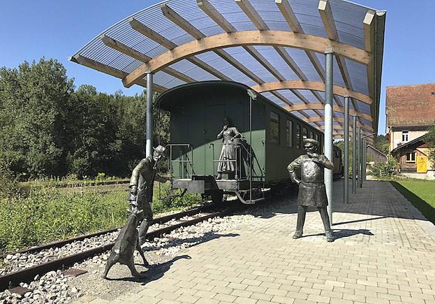 Bahnhof in Durlesbach