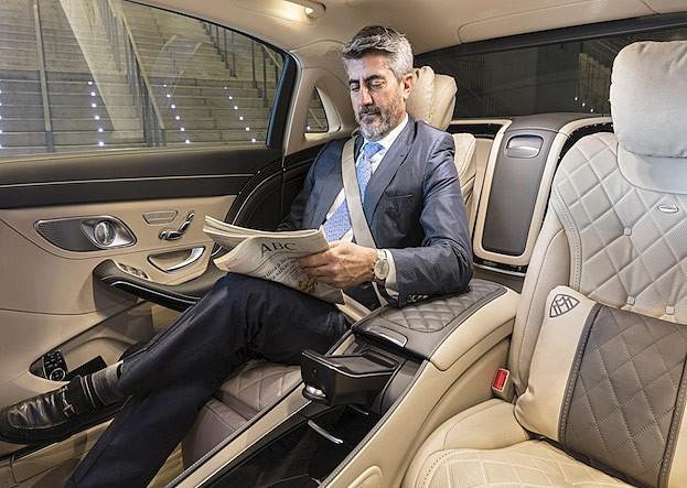 Mercedes-S-Klasse mit AGR-Sitz