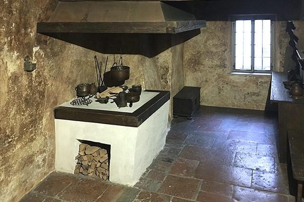 Küche der Familie Mozart (Mozart Geburtshaus)