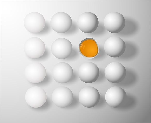 Ein Ei am Tag schützt vor Schlaganfall