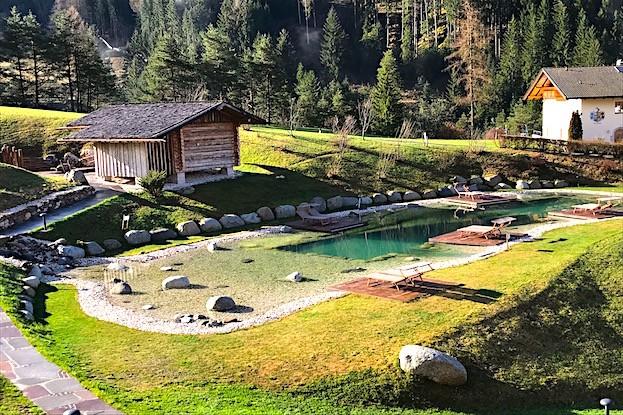 Cyprianerhof-Sauna mit Badesee