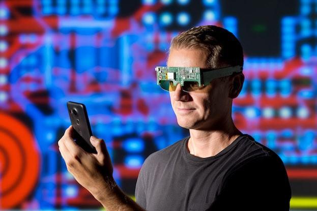 Funktionsmuster der Brillenelektronik