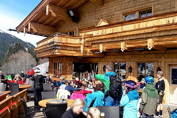 White Pearl Mountain Days auf der Maisalm