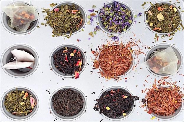Tee gibt es unzähligen Sorten