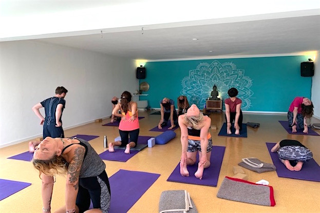 Yoga-Session