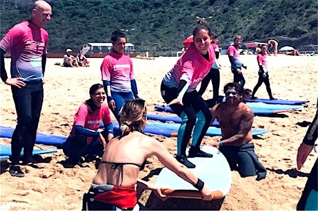 Surf-Trockentraining - denn aller Anfang ist schwer