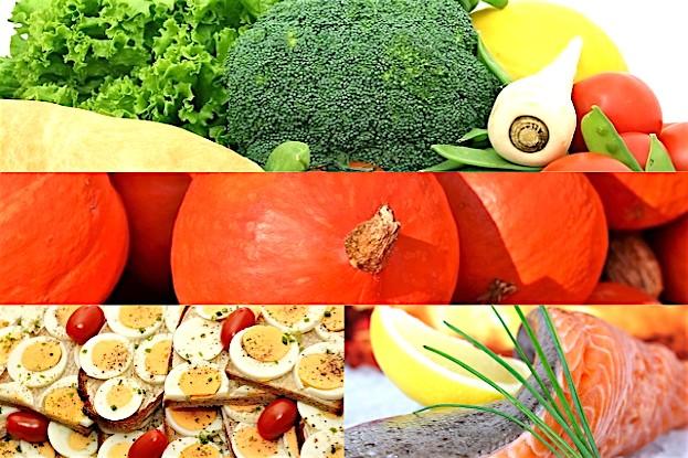 Grünes Gemüse, Kürbis, Eier und Fisch helfen bei Diabetes