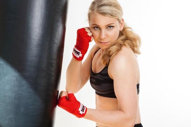 Kickboxerin Natalie Zimmermann