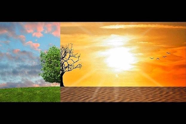Unübersehbar ist der Klimawandel
