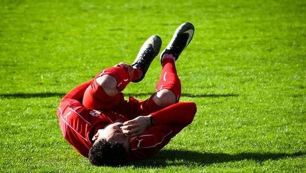 Sportverletzungen werden mit DMSO schnell gelindert