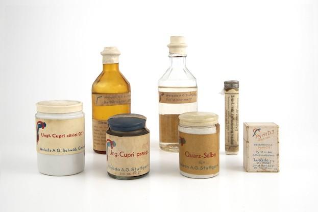 Die ersten Weleda-Produkte
