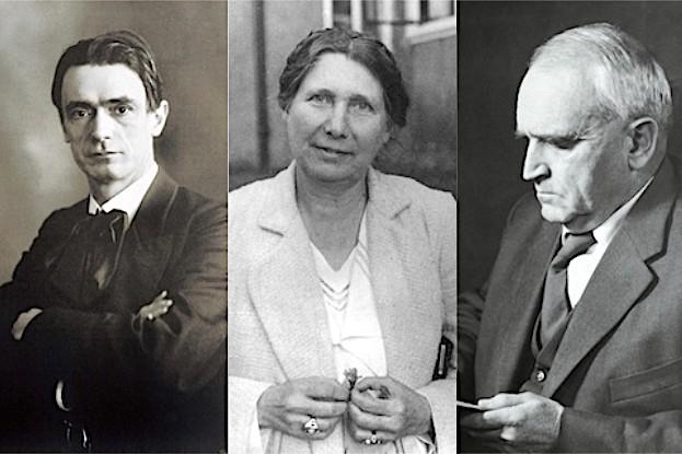Weleda-Gründer: Rudolf Steiner, Dr. Ita Wegmann, Oskar Schmiedel