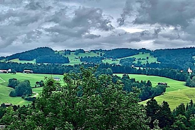 Der Bregenzerwald bei Langenegg