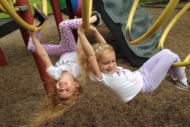 Kinder lieben Bewegung