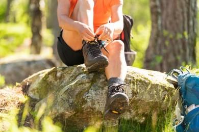 Das richtige Schuhwerk ist das A und O für entspanntes Wandern - ©Wikinger Reisen
