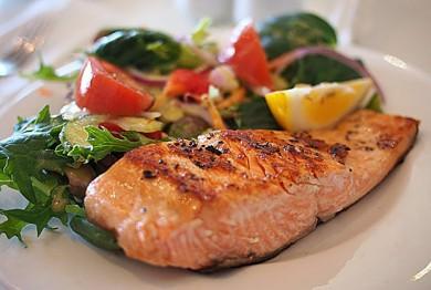 Segensreiche Ernährung: Mit Fisch