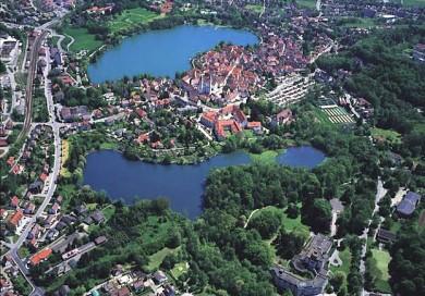 Bad Waldsee von oben - ©Tourismusverband Bad Waldsee