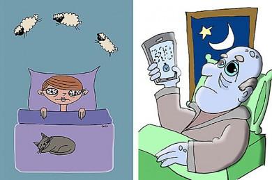 Schlaflose Nächte - nur ein Traum?