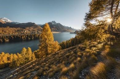 Silsersee im Herbst - @Schweiz Tourismus, Andreas Gerth