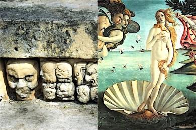 Botticellis berühmte Muschel und Maya-Ausgrabungen in Mexiko - ©Pixabay (2)