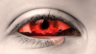 Gerötete oder tränende Augen sind auch ein Zeichen für Überanstrengung - ©Pixabay