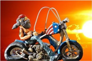 Easy riders - wollen auch heute viele der Boomer-Generation noch sein - ©Pixabay