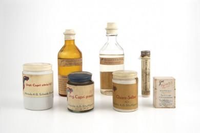 Die ersten Weleda-Produkte - ©Weleda AG