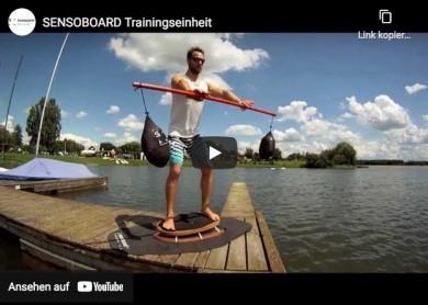Das perfekte Trainingsgerät um Gleichgewicht, Koordination und Athletik zu verbessern - ©SENSOBOARD