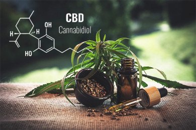 CBD-Öl ist ein beliebtes Nahrungsergänzungsmittel, das viele positive Effekte auf Körper und Psyche hat. - © CBD-Infos-com / Pixabay