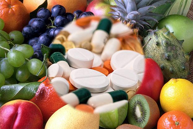 Pillen statt Obst und Gemüse