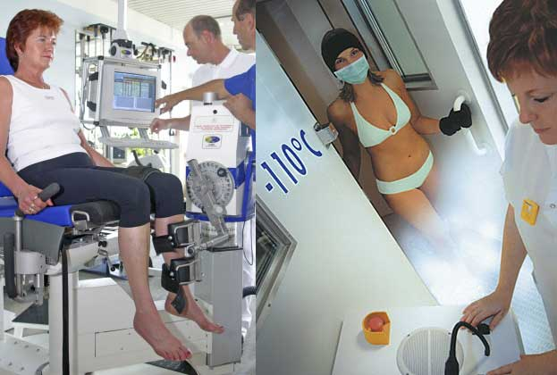Computergesteuerte Trainingsgeräte & Kälte statt Chirurgenmesser