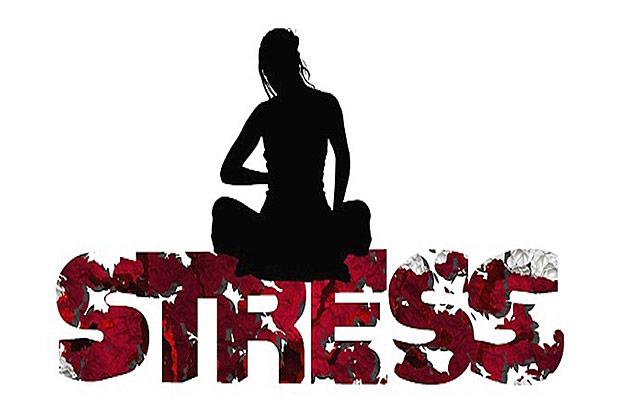 Stress belastet die Psyche