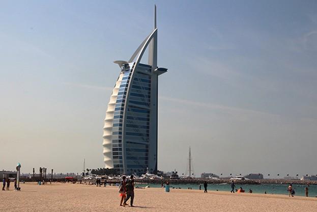 VAE, Dubai Burj-Arab