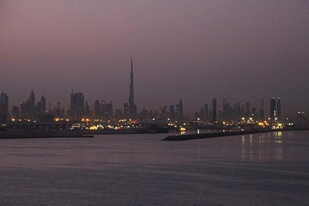 VAE, Dubai Skyline