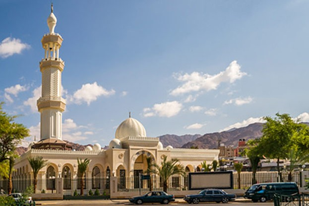 Sharif Hussein Bin Ali Mosque in Aqaba