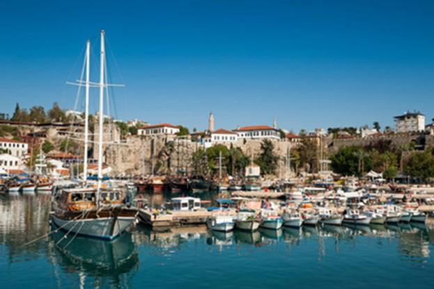 The old Marina of Antalya