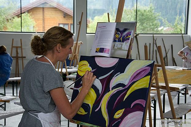 Acryl-Malerei