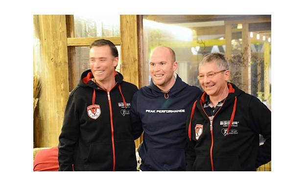 Christian Zehentner, Hans Grugger,  Dr. Thomas Sinnißbichler